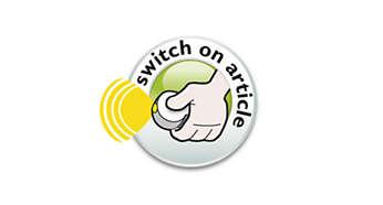 Przycisk włączania / wyłączania na lampie