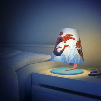 Идеална светлина за бюрото или нощното шкафче на детето ви