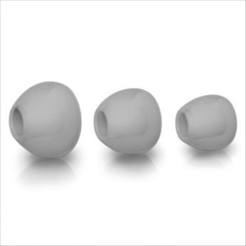 Puha szilikon fülbetét 3 különféle méretben a szoros illeszkedésért