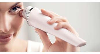 Zacht massageprogramma met 120 nanotrillingen per seconde