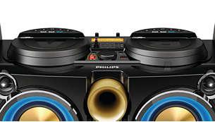 La doppia funzionalità Bluetooth consente la riproduzione musicale da 2 smartphone