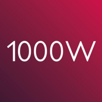 Мощность 1000Вт для великолепных результатов