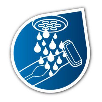 Водонепроницаемость для использования в душе, и легкая чистка
