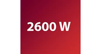 Μέγιστη ισχύς 2600 W για ισχυρή αυτοτροφοδοσία