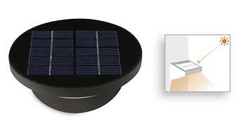 Panel solar integrado