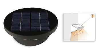 Integrierte Solarzelle