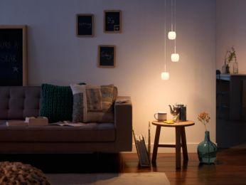 Doskonałe światło do relaksu i podejmowania gości