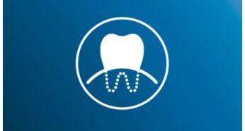 Эффективнее при воспалении десен по сравнению с обычными зубными щетками