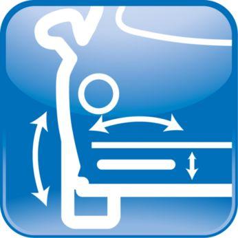 Разрешенная установка на бампер под углом до +/-40°