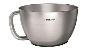 4L metal bowl for upto 1300gms of dough