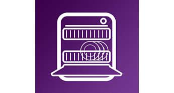 Nádoba a díly příslušenství vhodné do myčky na nádobí