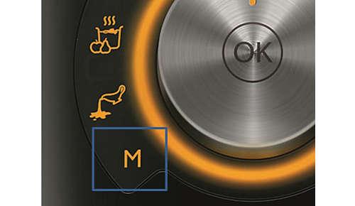 Tryb ręczny do samodzielnego sterowania gotowaniem
