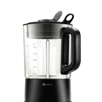 Max 2L(with food 1.5L) high quality heat resistent glass jar