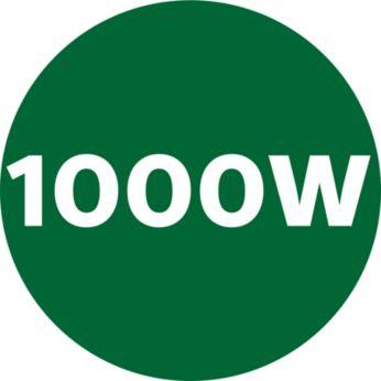 Изцежда и най-твърдите продукти – 1000 W