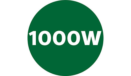 Juice the toughest ingredients - 1000 W