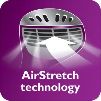 Công nghệ AirStretch cho hiệu quả ủi tốt hơn chỉ trong một lần ủi