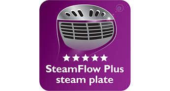Podgrzewana płyta parowa SmartFlow Plus zapewniająca doskonałe efekty