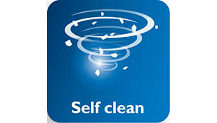 Self-Clean pour un détartrage efficace