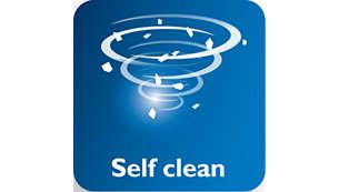 Self Clean voor effectieve kalkverwijdering