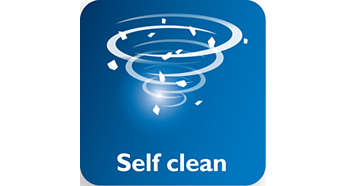 Self-Clean pour un détartrage efficace