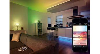 Lav lyssætninger baseret på dit foretrukne billede