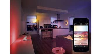 Créez des réglages d'éclairage en fonction de votre photo préférée