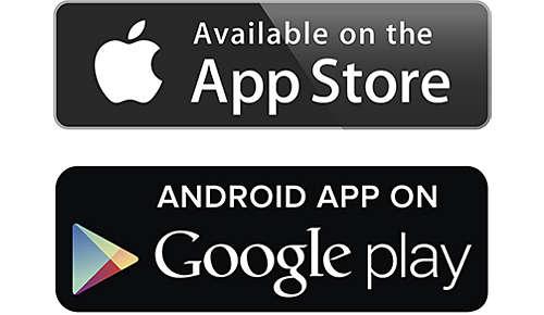 Bediening via iOS- en Android-apparaten
