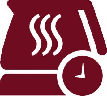 Durată reglabilă de păstrare la cald de la 10 minute la 2 ore