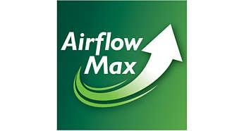 Revolutionaire AirflowMax-technologie voor extreme zuigkracht