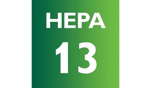 HEPA AirSeal met HEPA13-filter houdt 99,95% van het stof vast