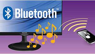 Bluetooth para transmisión inalámbrica de música y llamadas