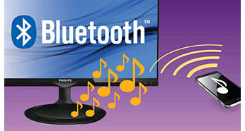 Tecnologia Bluetooth per lo streaming wireless di musica e telefonate