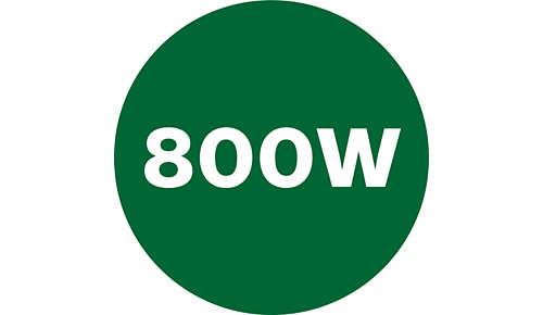 Puissant moteur de 800W pour des résultats parfaits