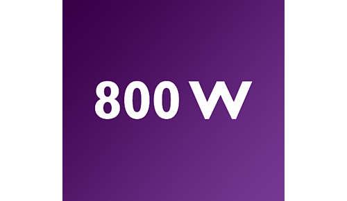 Kraftfull 800 W-motor för fantastiska mixningsresultat