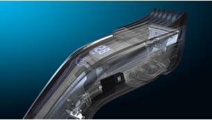 ProMotor ofrece una mayor duración y una potencia de corte superior*