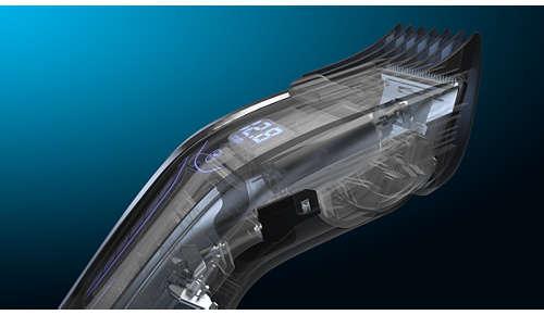 Der besonders widerstandsfähige ProMotor bietet mehr Schneideleistung*