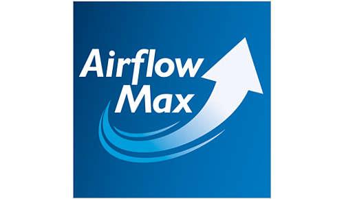 Revolutionaire AirflowMax-technologie voor uitstekende prestaties