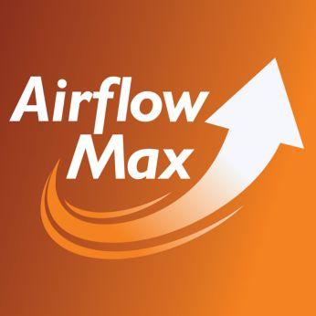 Revolucionārā AirflowMax tehnoloģija īpaši lielai sūkšanas jaudai