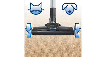 """""""Turbo"""" šepetys, švarūs namai ir jokių gyvūnų plaukų"""