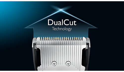 L'élément de coupe doublement aiguisé coupe deux fois plus vite*