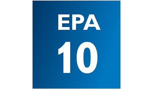 EPA10-filter system med AirSeal för hälsosam luft