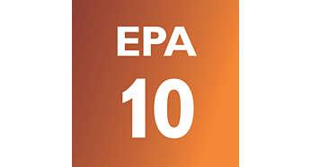 """EPA10 filtravimo sistema su """"Airseal"""", kad oras būtų sveikesnis"""