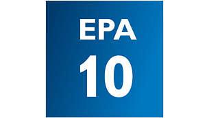 EPA10-suodatinjärjestelmä ja AirSeal puhdistavat ilman
