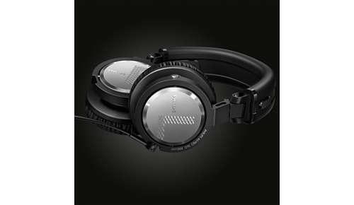 90 graden draaibare oorschelpen voor DJ's