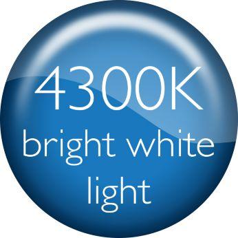 Лампы CrystalVision излучают яркий белый свет 4300К и гарантируют совершенный стиль