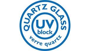 高品質のクオーツガラスを使用したフィリップスの自動車用照明