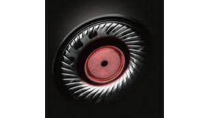 Geniş ve hassas ses aralığı için güçlü 50 mm neodimyum sürücüler