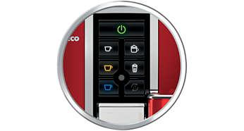 Intuitive Bedienung dank Benutzeroberfläche mit farbigen Display-Symbolen