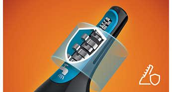 Systemet förhindrar hårdragningar och skärsår