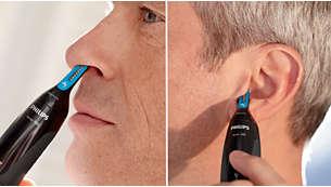 Nå håret i øret eller nesen helt enkelt